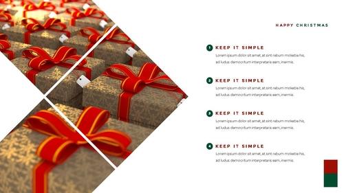 크리스마스 선물 파워포인트 프레젠테이션 - 섬네일 16page