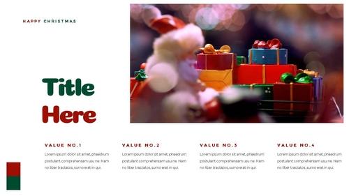 크리스마스 선물 파워포인트 프레젠테이션 - 섬네일 20page