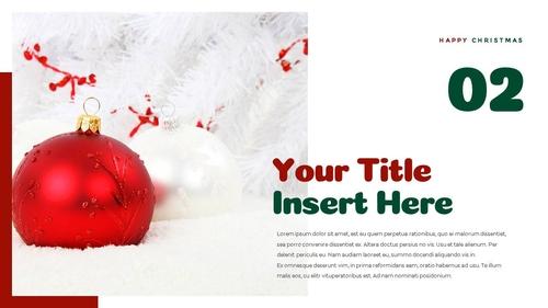 크리스마스 선물 파워포인트 프레젠테이션 - 섬네일 21page