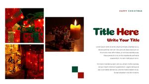 크리스마스 선물 파워포인트 프레젠테이션 #24