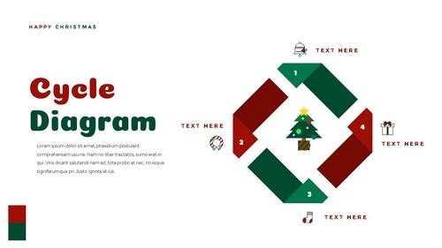 크리스마스 선물 파워포인트 프레젠테이션 - 섬네일 25page