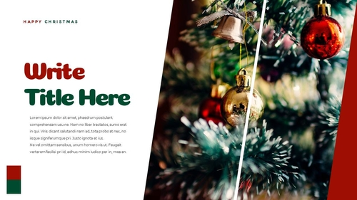 크리스마스 선물 파워포인트 프레젠테이션 - 섬네일 27page