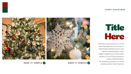 크리스마스 선물 파워포인트 프레젠테이션 - 섬네일 29page
