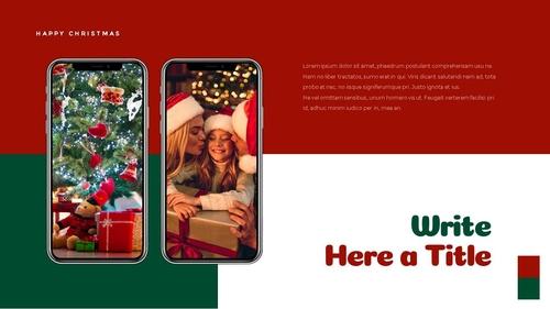크리스마스 선물 파워포인트 프레젠테이션 - 섬네일 39page