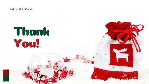 크리스마스 선물 파워포인트 프레젠테이션 - 섬네일 40page
