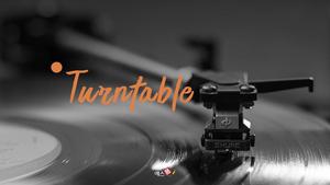 턴테이블 (Turntable) 레트로 PPT #1