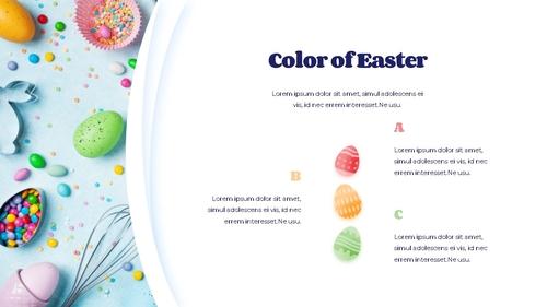 Hello Easter 부활절 파워포인트 템플릿 - 섬네일 5page