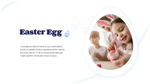 Hello Easter 부활절 파워포인트 템플릿 #6