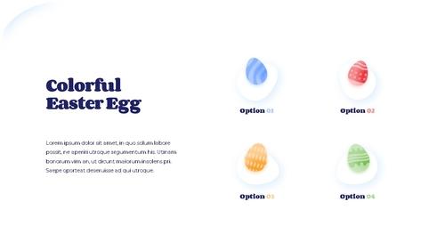 Hello Easter 부활절 파워포인트 템플릿 - 섬네일 8page