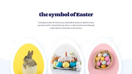 Hello Easter 부활절 파워포인트 템플릿 - 섬네일 9page
