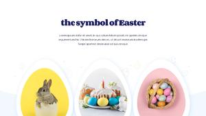 Hello Easter 부활절 파워포인트 템플릿 #9