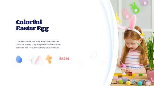 Hello Easter 부활절 파워포인트 템플릿 - 섬네일 12page