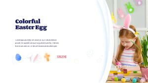 Hello Easter 부활절 파워포인트 템플릿 #12