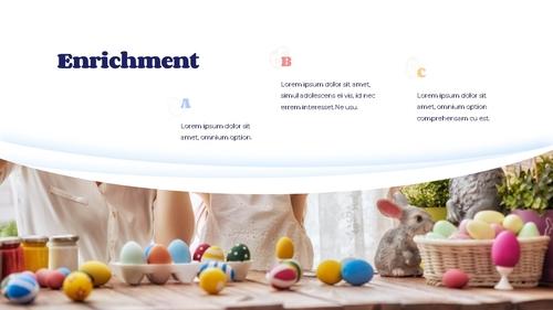 Hello Easter 부활절 파워포인트 템플릿 - 섬네일 13page
