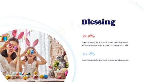 Hello Easter 부활절 파워포인트 템플릿 - 섬네일 15page
