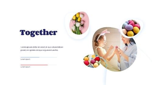 Hello Easter 부활절 파워포인트 템플릿 - 섬네일 16page
