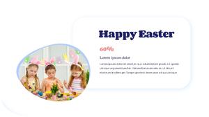 Hello Easter 부활절 파워포인트 템플릿 #17