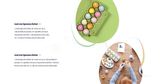 Hello Easter 부활절 파워포인트 템플릿 - 섬네일 19page