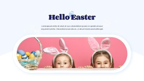 Hello Easter 부활절 파워포인트 템플릿 - 섬네일 22page