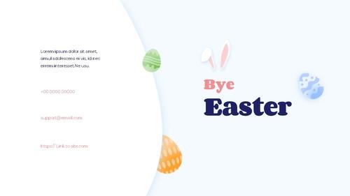 Hello Easter 부활절 파워포인트 템플릿 - 섬네일 40page