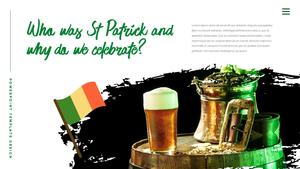 성 패트릭 데이 (St. Patricks Day) 템플릿 #2