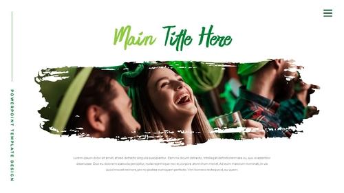성 패트릭 데이 (St. Patricks Day) 템플릿 - 섬네일 3page