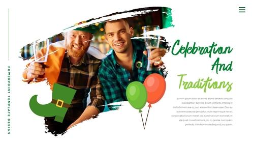 성 패트릭 데이 (St. Patricks Day) 템플릿 - 섬네일 4page