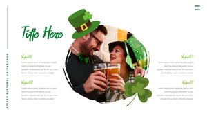 성 패트릭 데이 (St. Patricks Day) 템플릿 #5
