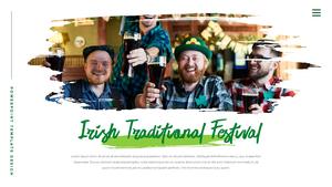 성 패트릭 데이 (St. Patricks Day) 템플릿 #6