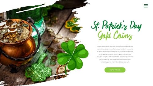 성 패트릭 데이 (St. Patricks Day) 템플릿 - 섬네일 8page