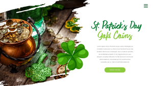성 패트릭 데이 (St. Patricks Day) 템플릿 #8