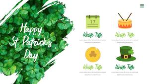 성 패트릭 데이 (St. Patricks Day) 템플릿 #10