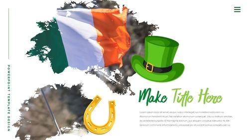 성 패트릭 데이 (St. Patricks Day) 템플릿 - 섬네일 11page