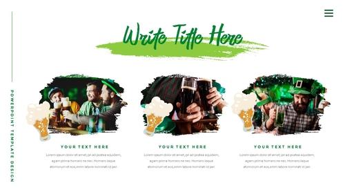 성 패트릭 데이 (St. Patricks Day) 템플릿 - 섬네일 12page