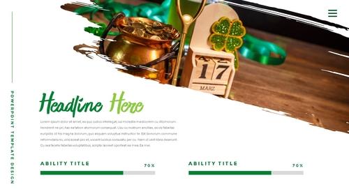 성 패트릭 데이 (St. Patricks Day) 템플릿 - 섬네일 13page