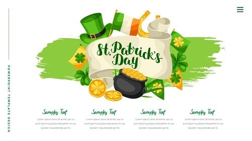 성 패트릭 데이 (St. Patricks Day) 템플릿 - 섬네일 14page