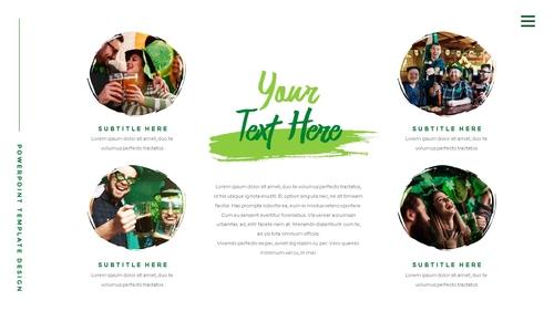 성 패트릭 데이 (St. Patricks Day) 템플릿 - 섬네일 15page