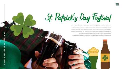 성 패트릭 데이 (St. Patricks Day) 템플릿 - 섬네일 16page