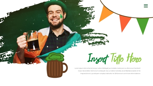 성 패트릭 데이 (St. Patricks Day) 템플릿 - 섬네일 18page