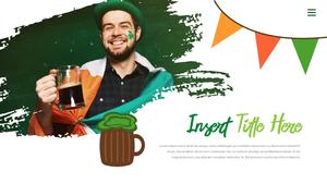 성 패트릭 데이 (St. Patricks Day) 템플릿 #18