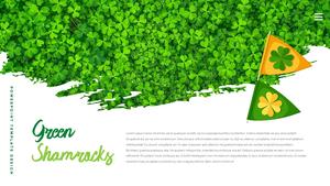 성 패트릭 데이 (St. Patricks Day) 템플릿 #19