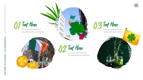 성 패트릭 데이 (St. Patricks Day) 템플릿 - 섬네일 20page