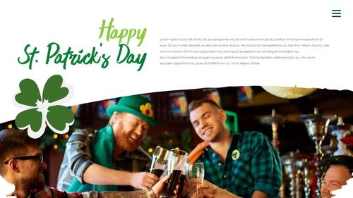 성 패트릭 데이 (St. Patricks Day) 템플릿 - 섬네일 21page