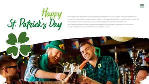 성 패트릭 데이 (St. Patricks Day) 템플릿 #21