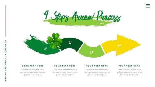 성 패트릭 데이 (St. Patricks Day) 템플릿 - 섬네일 22page