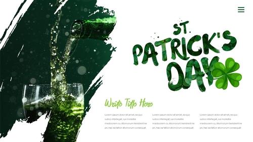 성 패트릭 데이 (St. Patricks Day) 템플릿 - 섬네일 24page