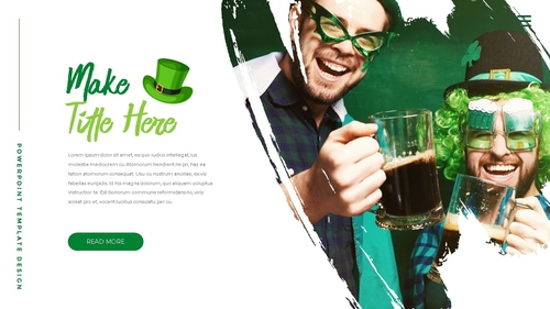 성 패트릭 데이 (St. Patricks Day) 템플릿 - 섬네일 25page