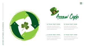 성 패트릭 데이 (St. Patricks Day) 템플릿 #26