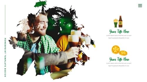 성 패트릭 데이 (St. Patricks Day) 템플릿 - 섬네일 29page