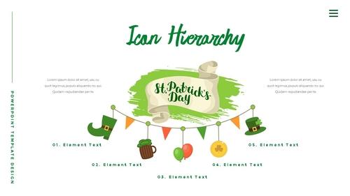 성 패트릭 데이 (St. Patricks Day) 템플릿 - 섬네일 33page